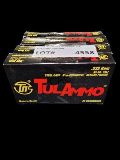 20rds TulAmmo .223 Rem 55 gr