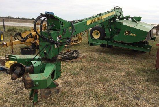 John Deere 945 Discbine MoCo w/ Transport Trailer | Farm