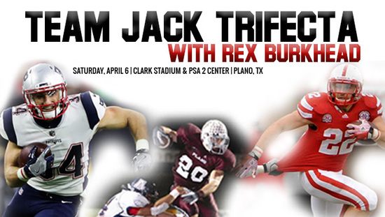 Team Jack Trifecta w/ Rex Burkhead Auction