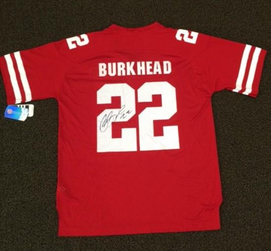 Rex Burkhead Signed & Framed Nebraska Huskers # 22 Jersey