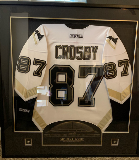 Sidney Crosby Signed Pittsburgh Penguins Jersey