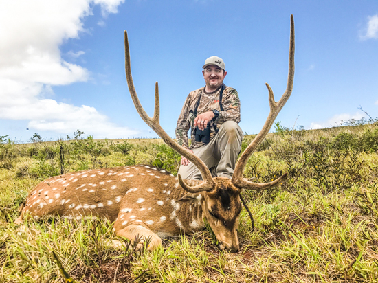 Once in a Lifetime 2-day Axis Deer Hunt for 1-Hunter