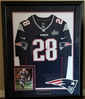 James White Signed Super Bowl LIII Replica Jersey