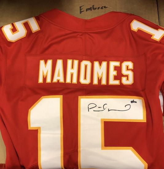 Patrick Mahomes, Super Bowl LIV Champ & MVP Signed Chiefs Jersey