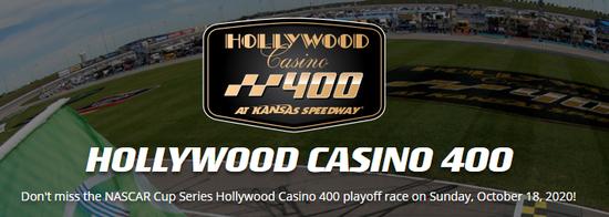 Kansas Speedway NASCAR VIP Experience on October 17 & 18, 2020