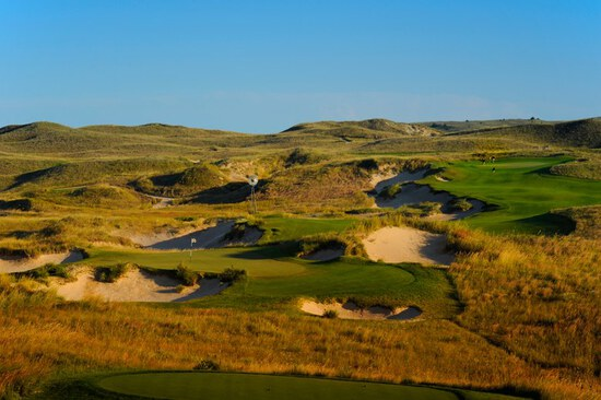 Sand Hills Golf Club Pkg for 4 People- Including 2-Days of Golf and 1-Night Lodging in Mullen, NE