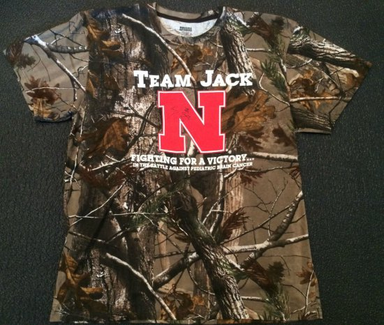 Larry the Cable Guy Camo Team Jack T-shirt