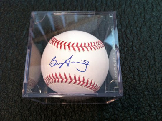 Brian Duensing Autographed Official MLB Baseball