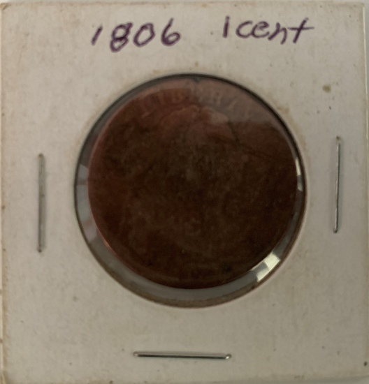 1806  US penny