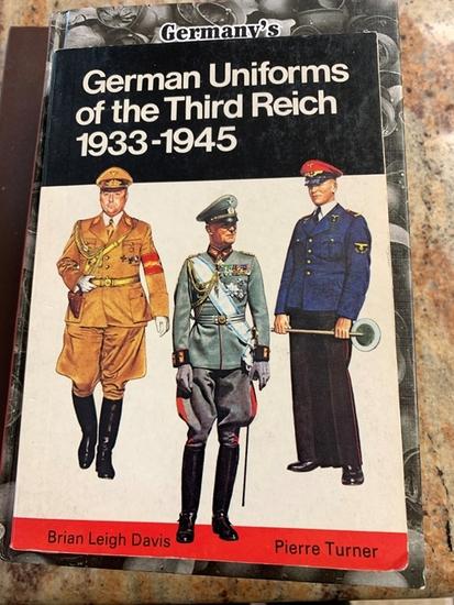 Book - German Uniforms of the Third Reich 1933-1945