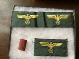 Shoulder Eagles Wehrmacht and Campaign Bar