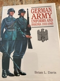 Book - German Army Uniforms and Insignia 1933-1945