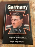 Book - For Germany, the Otto Skorzeny Memoirs
