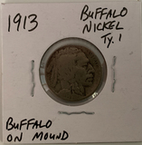 1913  Buffalo Nickel