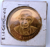 1969  Eisenhower commemorative gold piece