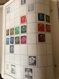 Stamp Album with some Third Reich stamps