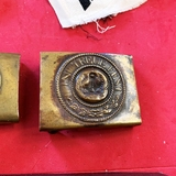 WWI Belt Buckle with dent in center