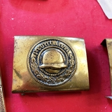 Front Heil Veterans Organization Belt Buckle