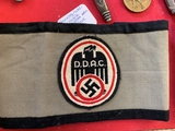 Nazi Automobile Club armband