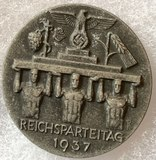 Reichs Party Day Medallion 1937