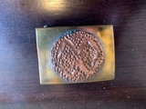 unknown early organization belt buckle