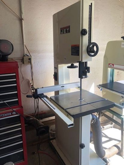 "Jet 18"" woodworking band saw"