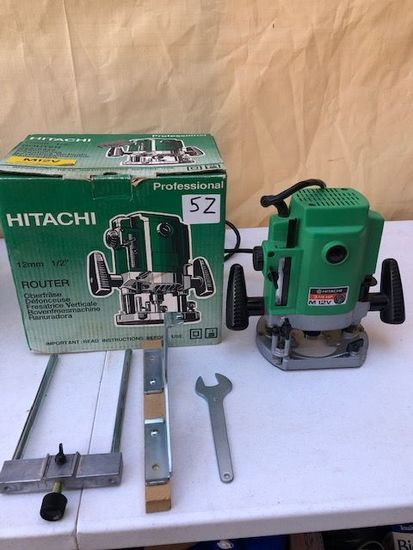 "Hitachi Professional 1/2"" router"
