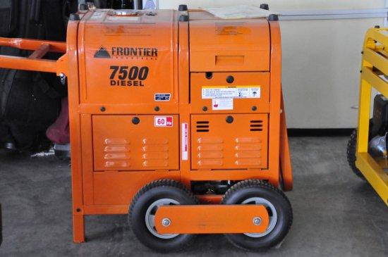 NEW FRONTIER 7500 DIESEL GENERATOR