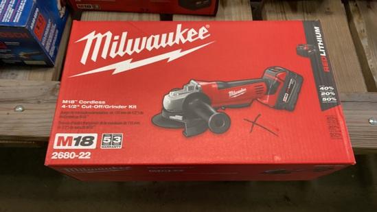 Milwaukee M18 Cordless Cut-Off/Grinder Kit