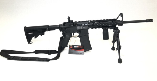 Ruger AR-5.56 Semi Auto Rifle W/ Bipod