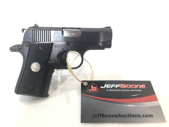 Colt Mustang 380 Semi Auto Pistol