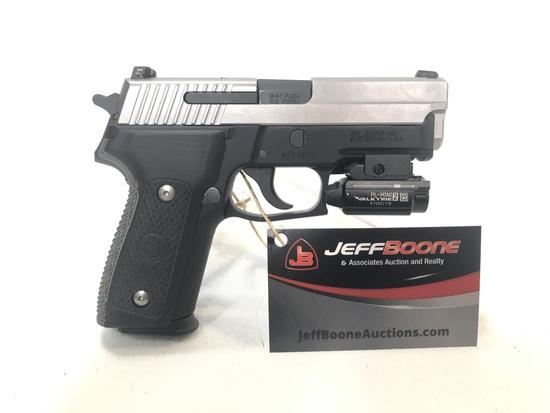 Sig Sauer P229-1,  9mm Semi Auto pistol