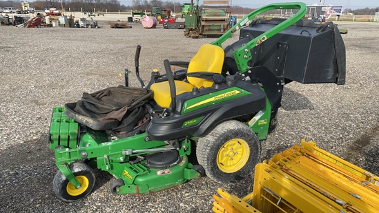 John Deere Z920M 48 In. ZT Mower w/Bagger