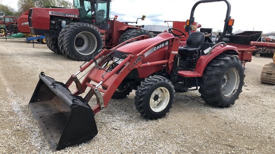 Case DX 45 Loader Tractor