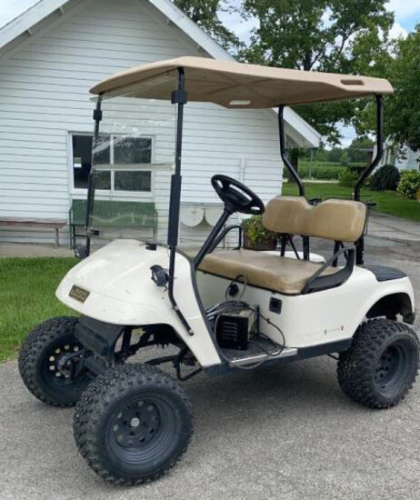 EZ-Go Electric Golf Cart