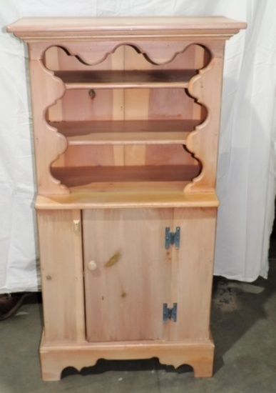 Miniature Custom Country Chippendale Style Cupboard