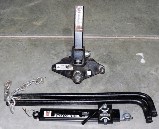 Husky Trailer Hitch with Sway Bars
