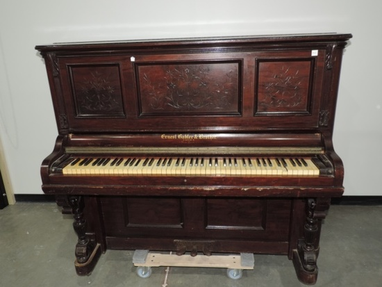 Antique Ernest Gabler and Brothers Piano, New York