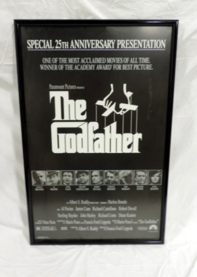 Framed Godfather 25 Anniversary Presentation Poster