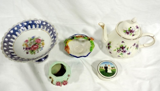5 Piece Collectible China Lot