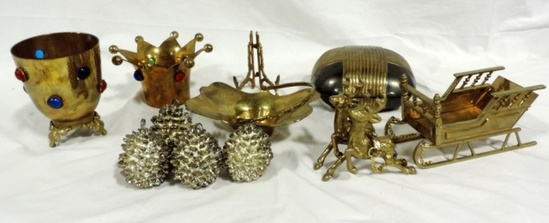 Miscellaneous Brass Lot