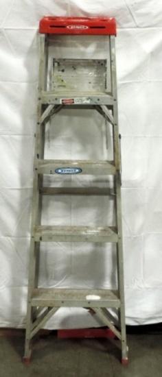 Werner 5 Foot Aluminum Step Ladder