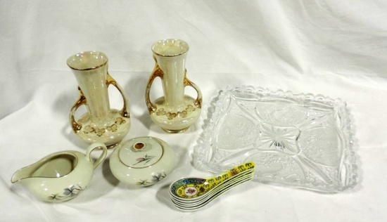 Mixed China And Glass Lot