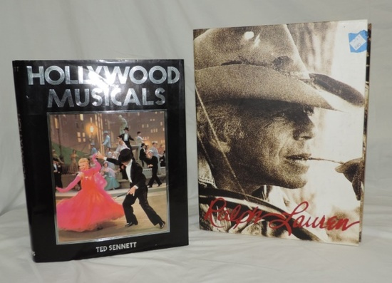 2007 Autographed Ralph Lauren Book And 1981 Hollywood Musicals Book