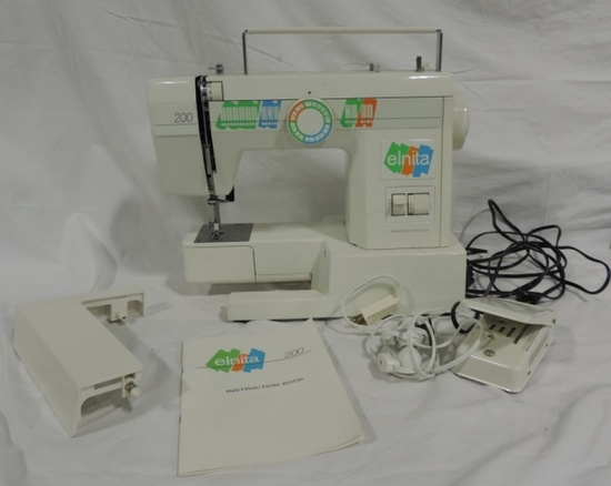 Elnita 200 By Elna Sewing Machine Co.