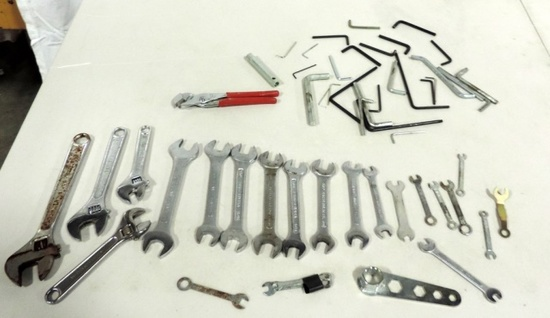 Tray Lot Craftsman Wrenches