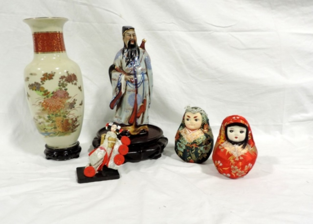 5 Piece Collectible Chinese Lot