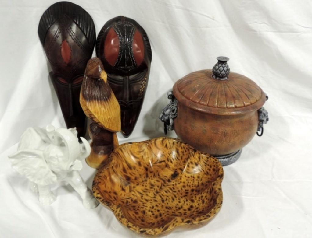 Mixed Ethnic Decorative Lot