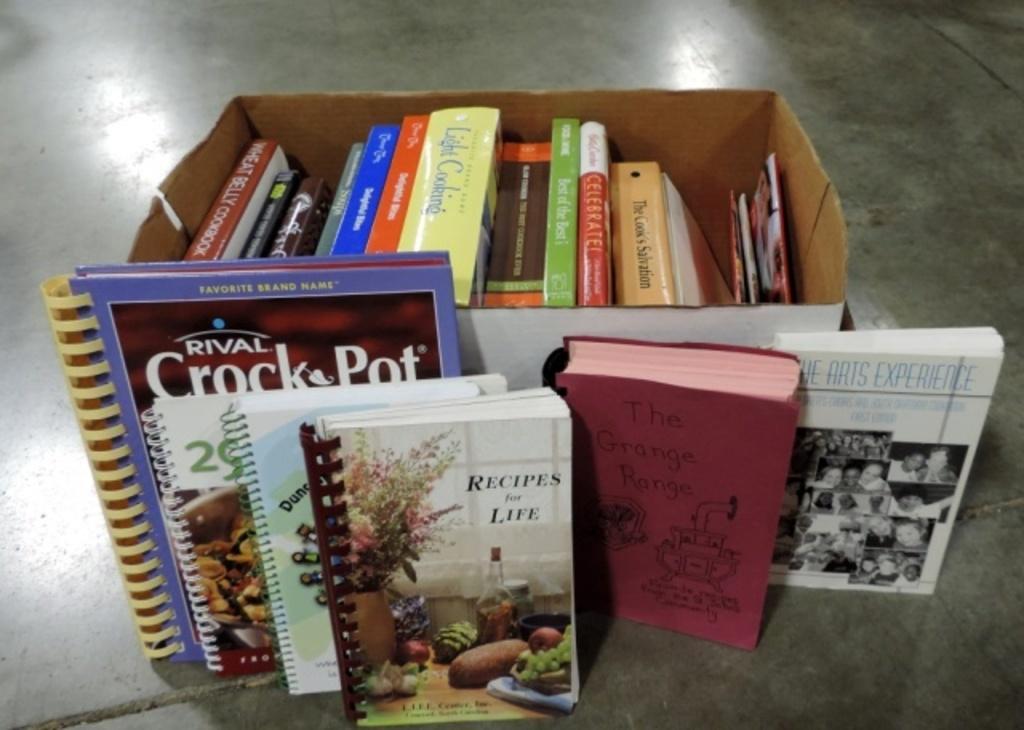 (26) Cookbooks