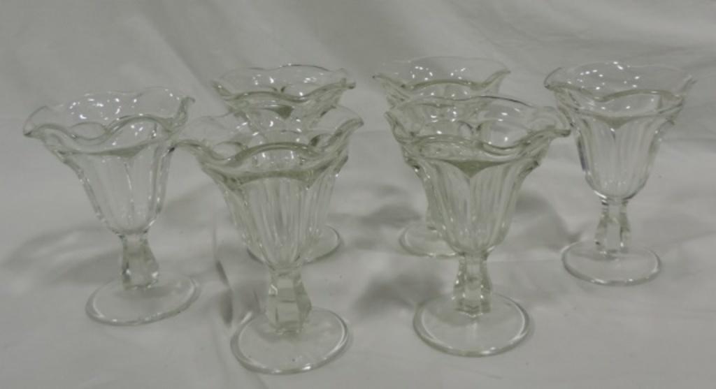 (6) Ice Cream Glasses